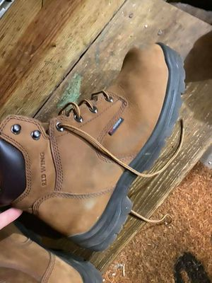 Red wing mens size 10 boots for Sale in Lancaster, OH