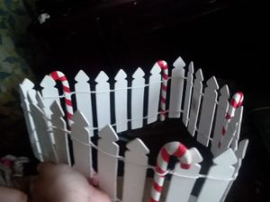 X mas basket fence and utility holder for Sale in Kingsley, PA