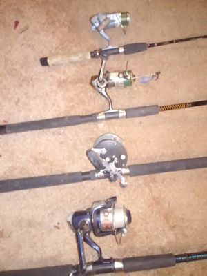 Fishing rods and reels for Sale in Hammonton, NJ