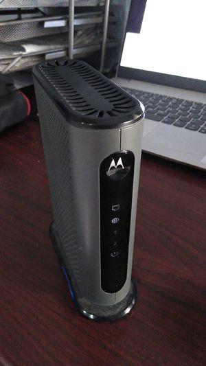 Motorola cable modem for Sale in Alafaya, FL