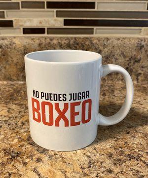No Puedes Jugar Boxeo coffe mug for Sale in Pico Rivera, CA