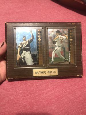 Collectible baseball card framed for Sale in Washington, DC
