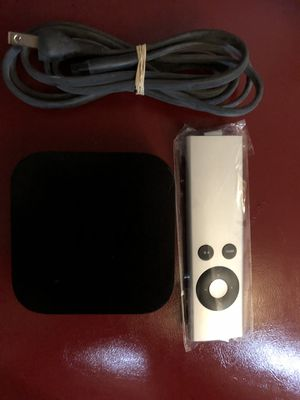 Apple TV box GEN 3 like new with cables and remote for Sale in Denver, CO