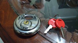 Stainless steel Padlock with original double keys. for Sale in Brooklyn, NY