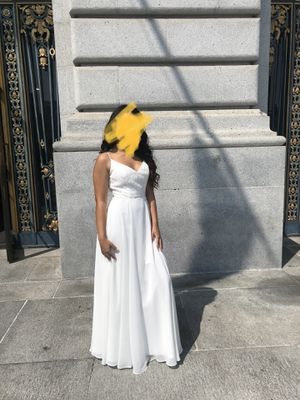Prom/Bridesmaid/Wedding Ivory Dress for Sale in Vacaville, CA