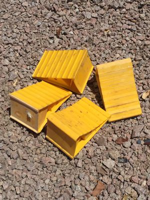 Plastic wheel chocks for Sale in Mesa, AZ