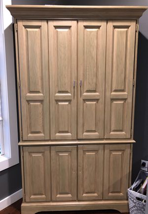 Tall corner TV cabinet for Sale in Bergenfield, NJ