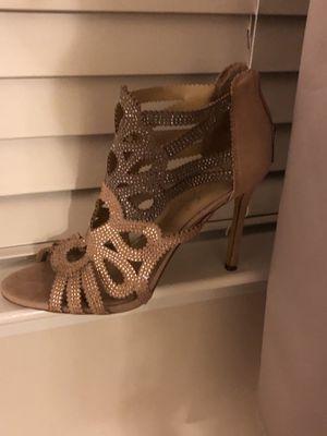 Women dress shoes rose gold for Sale in Woodstock, GA