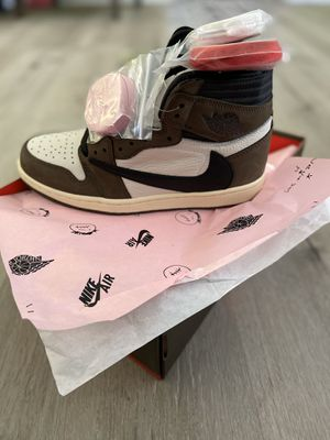 Nike Air Jordan Retro 1 Travis Scott High 'Mocha' size 8.5 $240 for Sale in Redondo Beach, CA