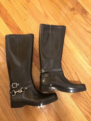 Coach rain boots for Sale in New York, NY
