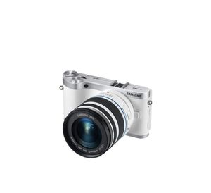 """Samsung NX300 20.3MP CMOS Smart WiFi Mirrorless Digital Camera with 18-55mm Lens and 3.3"""" AMOLED Touch Screen (White) for Sale in Virginia Beach, VA"""