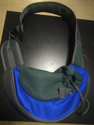 Pet sling front carrier. Size small S:35*8.5*20cm for Sale in Boston, MA