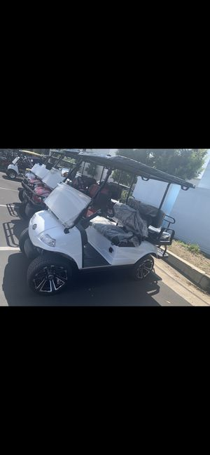 2020 4 seater golf cart electric for Sale in Los Angeles, CA
