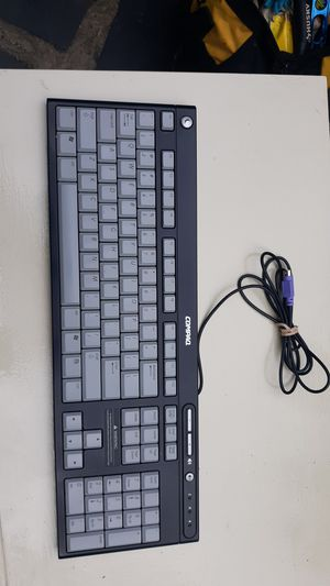 Genuine Compaq (5137) Black & Gray PS/2 Wired Standard Computer Keyboard for Sale in Accokeek, MD