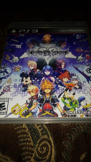 Kingdom hearts HD ii.5 remix ps3 game for Sale in El Cajon, CA