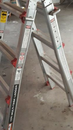 17ft Miti Ladder , Good Shape for Sale in Springfield,  IL