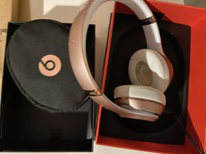 Beats by Dre Solo 3 / rose gold for Sale in Glendale, AZ