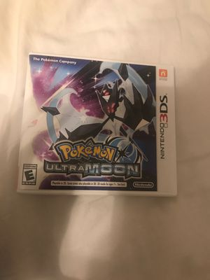 Pokémon Ultra Moon 3DS for Sale in Fresno, CA