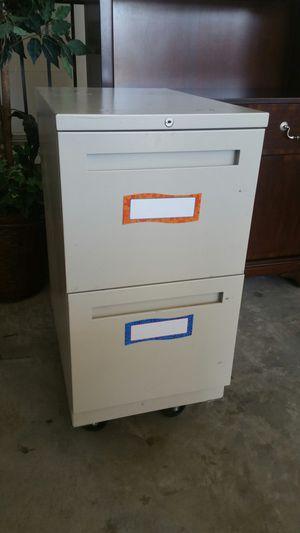 Filing cabinet 2 draw locking for Sale in South Jordan, UT