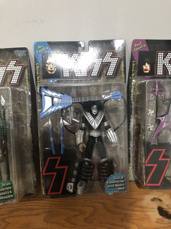 KISS ACTION FIGURES COLLECTION SET OF 4