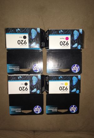 Officejet HP ink cartridges brand new for Sale in Snohomish, WA