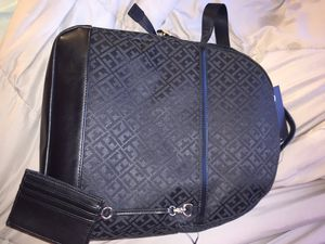 Black Tommy Hilfiger backpack brand new with tags for Sale in Sacramento, CA