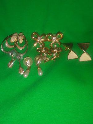 Fancy earrings 1/2 off sale for Sale in Phoenix, AZ