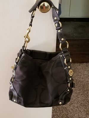 Coach Black Satine Hobo Handbag for Sale in Abilene, TX