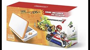 Nintendo 2DS XL with Mario kart game NEW yellow-white for Sale in Miami, FL