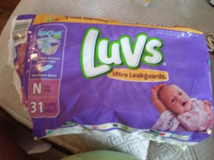 Luvs Newborn diapers for Sale in Columbus, OH