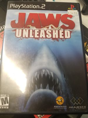Ps2 Jaws Unleashed for Sale in Lakeland, FL