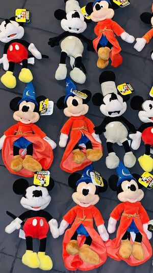 Mickey Mouse true original Walt Disney 90 years collectible dolls toys for Sale in La Puente, CA