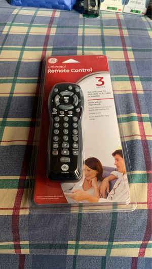 GE UNIVERSAL REMOTE CONTROL for Sale in Los Angeles, CA