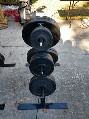 Ivanko Olympic weight plates for Sale in Orlando, FL