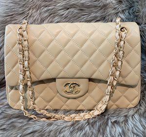 Chanel Jumbo Beige Bag for Sale in Sunny Isles Beach, FL