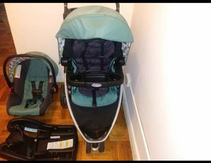 Graco stroller with car seat for Sale in The Bronx, NY