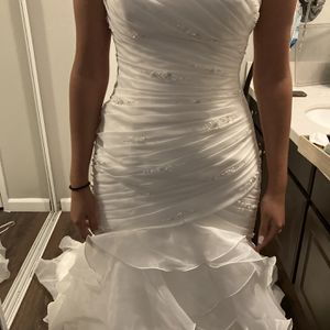 Wedding Dress Corset Ivory Color for Sale in Downey, CA