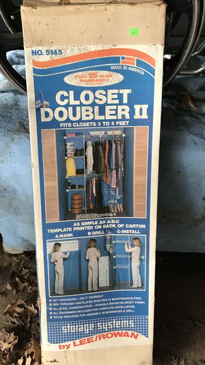 Closet Organizer for Sale in Lancaster, TX