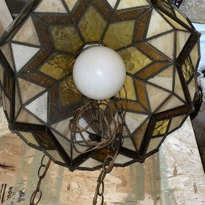 Stained Glass Light Fixture (1960's) for Sale in Freehold, NJ