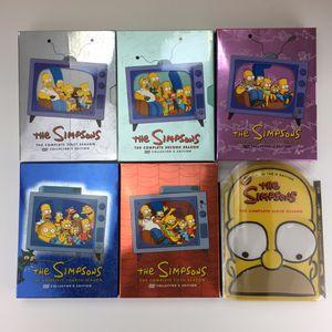 The Simpsons Collectors Edition season 1-6 + book for Sale in Tamarac, FL