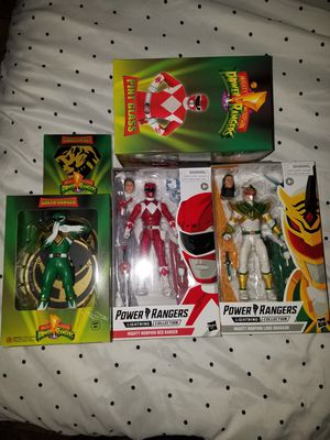Power Rangers figures/collectibles for Sale in Hutto, TX