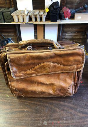 FREE Vintage Leather Messenger Bag for Sale in Rosemead, CA