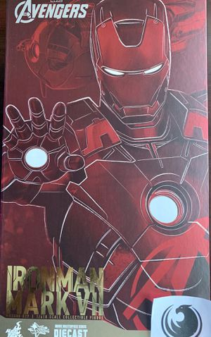 Hot Toys Marvel Iron Man Mark VII Diecast MMS500 D27 for Sale in Oswego, IL