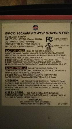 Rv Power Converter. for Sale in Coushatta,  LA