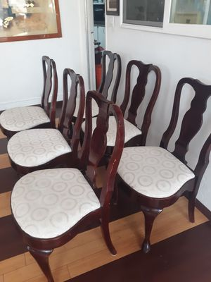 Dining room table chairs price for all six chairs for Sale in San Diego, CA