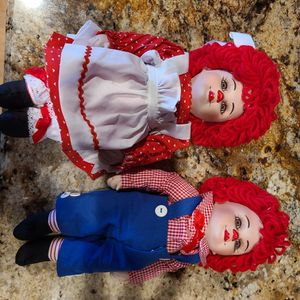 Raggedy Ann & Andy Rags & Rosie for Sale in Gilbert, AZ