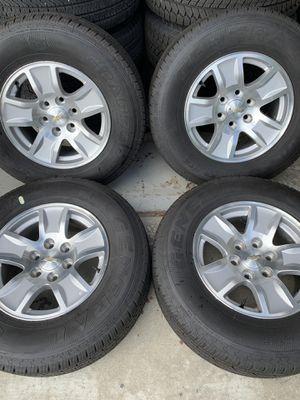 Chevy silverado wheels for Sale in Bloomington, CA