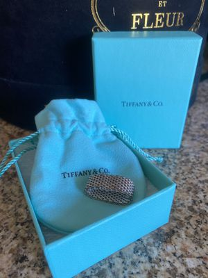 Tiffany Sterling Silver Mesh Ring for Sale in Phoenix, AZ