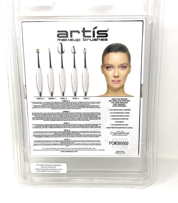 Artis Elite Collection Mirror Finish Brush Set