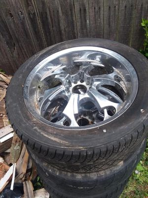 22 inch rims for sale with tires for $350 for Sale in Landover, MD